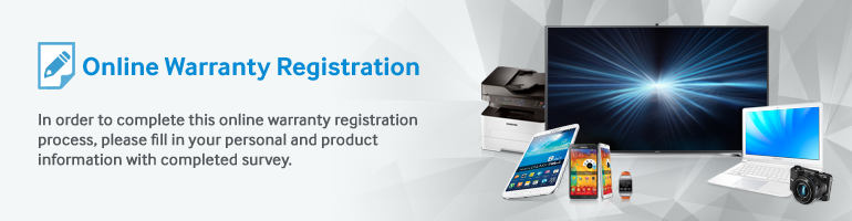 Samsung singapore warranty registration